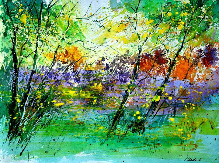 watercolor nature 21 - Pol Ledent's paintings