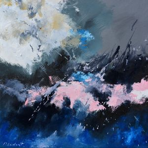 Zeus - Pol Ledent's paintings