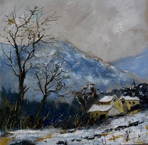 Winter - Pol Ledent's paintings