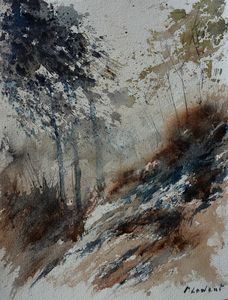 November in the wood - Pol Ledent's paintings