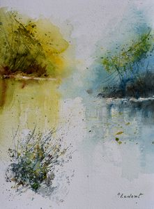 Quiet waters - Pol Ledent's paintings