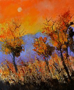 Autumnal image - Pol Ledent's paintings
