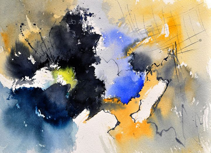 watercolor abstract 210956 - Pol Ledent's paintings