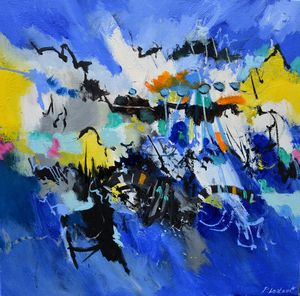 Blue way - Pol Ledent's paintings