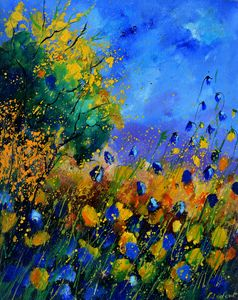 Wild flowers 4523 - Pol Ledent's paintings