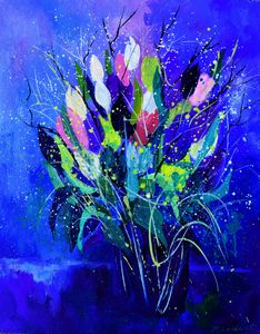 Tulips - Pol Ledent's paintings