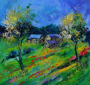 Spring 2020 - Pol Ledent's paintings