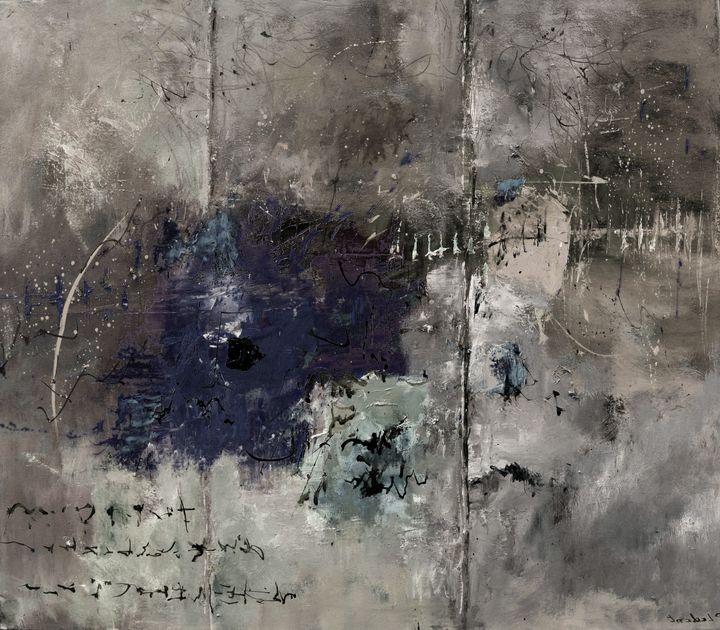 Old parchment - Pol Ledent's paintings
