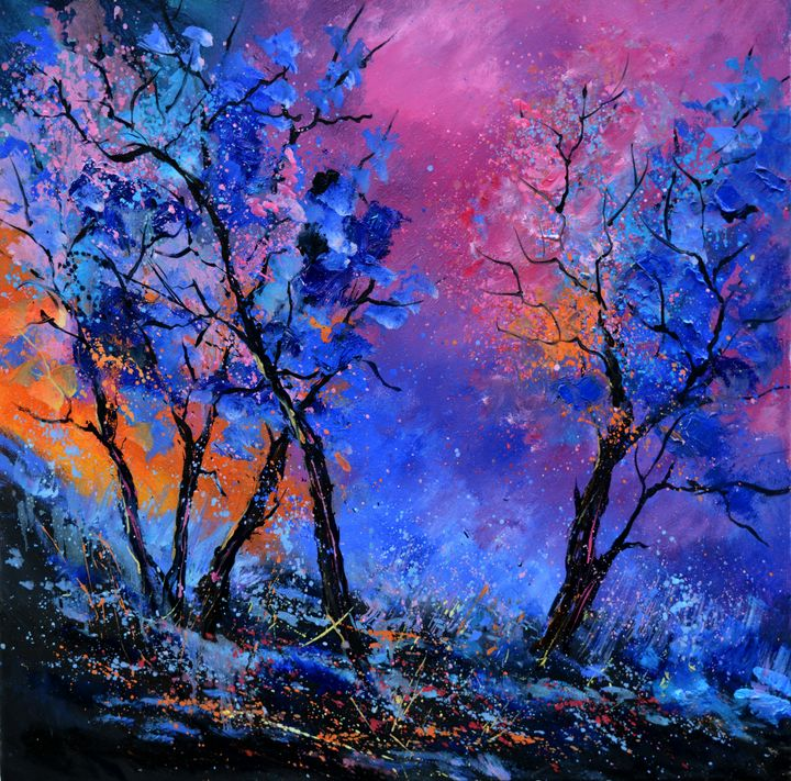 Merlin's dwelling place - Pol Ledent's paintings