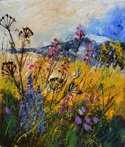 Wild flowers - Pol Ledent's paintings