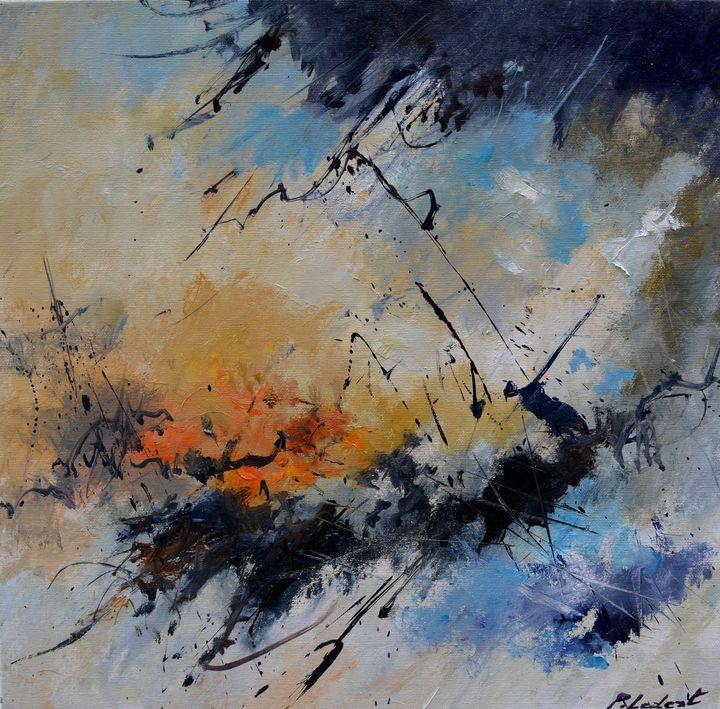 Hephaistos at work - Pol Ledent's paintings