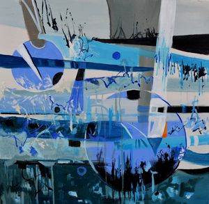 Two sister moons - Pol Ledent's paintings