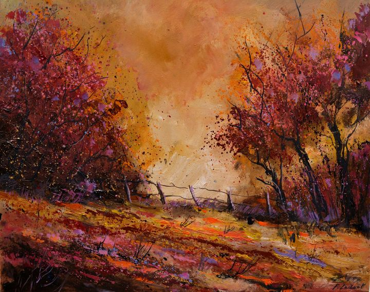 Autumn light - Pol Ledent's paintings