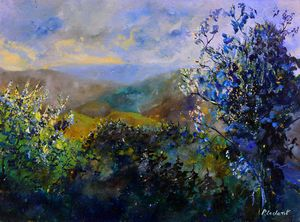 Looking at the hills - Pol Ledent's paintings