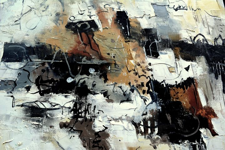 Black and white memories - Pol Ledent's paintings
