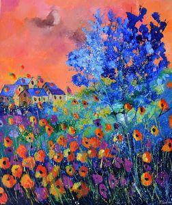 Floral feast - Pol Ledent's paintings