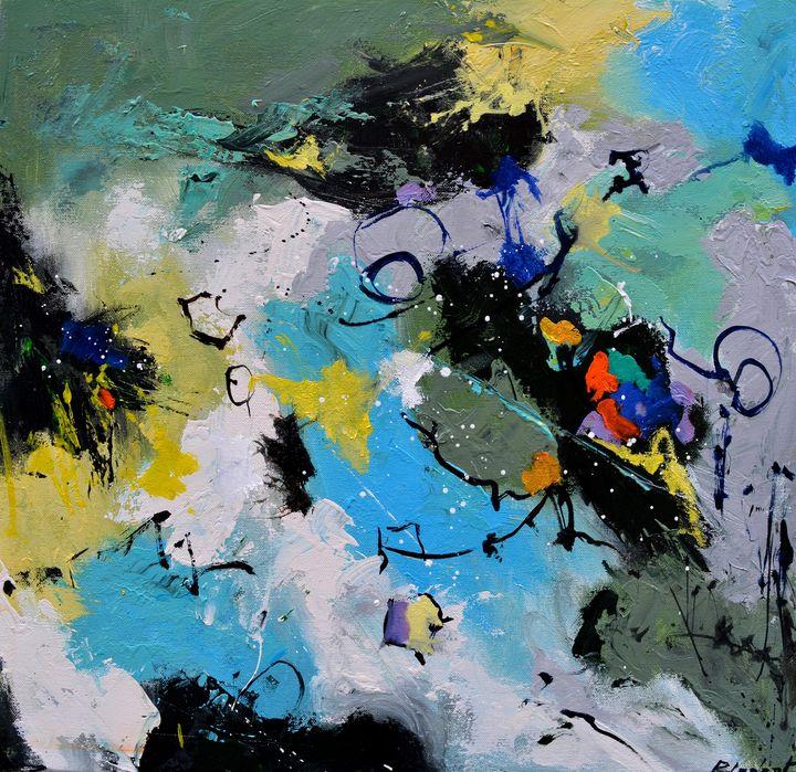 Garden mapping - Pol Ledent's paintings