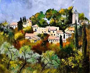 Eygalières provence 67 - Pol Ledent's paintings