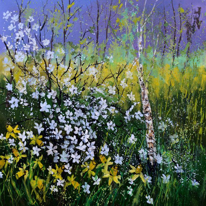 Spring in 2021 - Pol Ledent's paintings