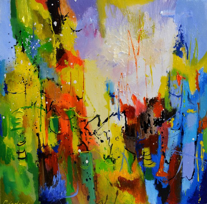 Dedalus found his way - Pol Ledent's paintings