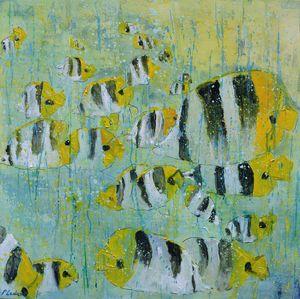 Tropical waters - Pol Ledent's paintings
