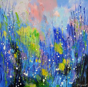 Spring colours - Pol Ledent's paintings