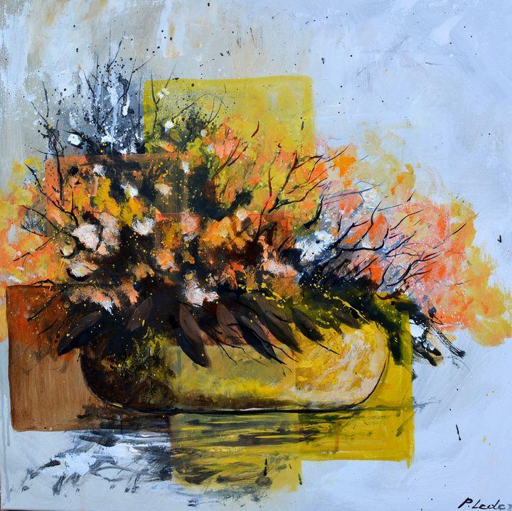 Ikebana - Pol Ledent's paintings