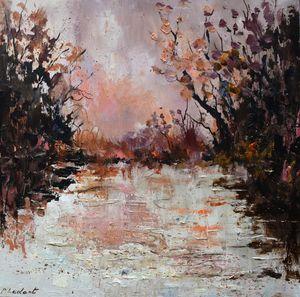 Pink waters - Pol Ledent's paintings