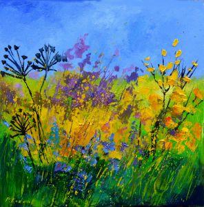 Flower power - Pol Ledent's paintings