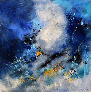 Blue night - Pol Ledent's paintings