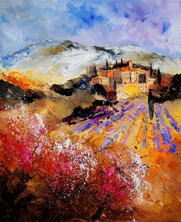 tuscany 5645 - Pol Ledent's paintings