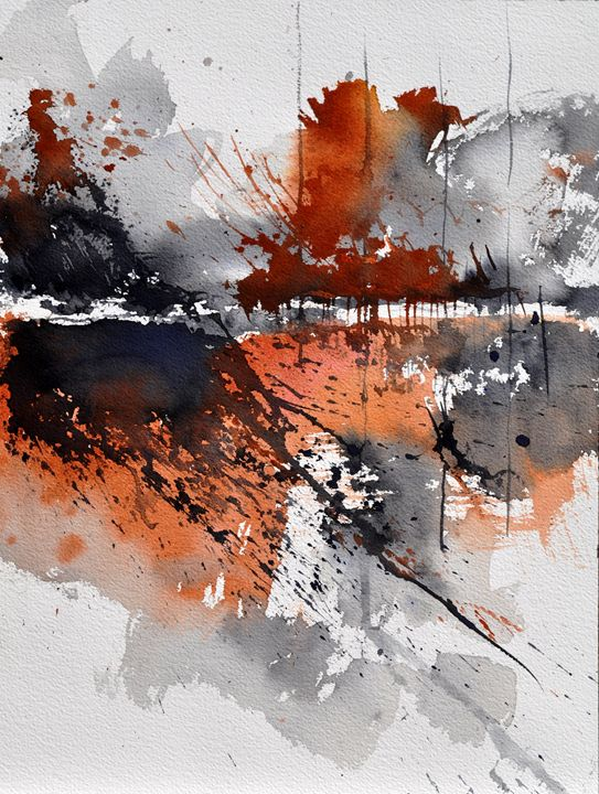 watercolor abstract 2180 - Pol Ledent's paintings