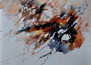 watercolor 4589 - Pol Ledent's paintings