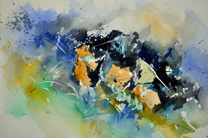 watercolor abstract 219152 - Pol Ledent's paintings