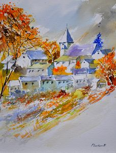 watercolor awagne - Pol Ledent's paintings