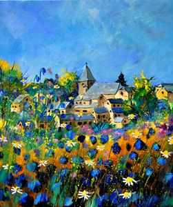 summer in awagne - Pol Ledent's paintings