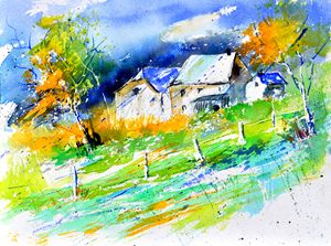 watercolor 216003 - Pol Ledent's paintings