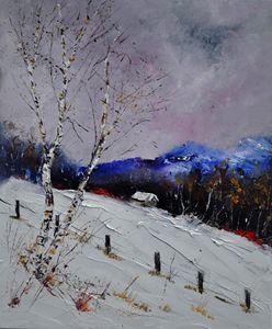 winter 562121 - Pol Ledent's paintings