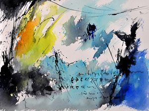 watercolor 216042 - Pol Ledent's paintings