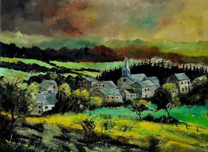 ucimont 79 - Pol Ledent's paintings