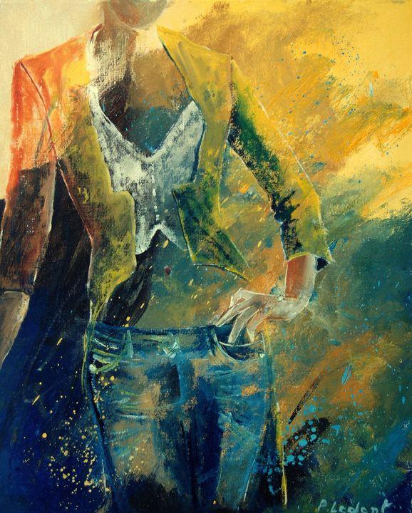 Deborah - Pol Ledent's paintings