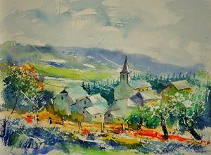 watercolor ucimont - Pol Ledent's paintings