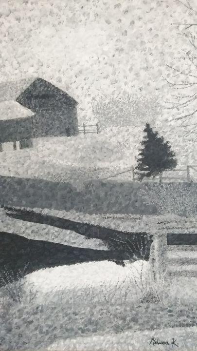Abstract Farm - Mel's Art Gallery