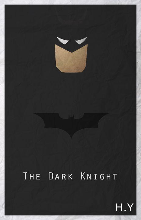 The Dark Knight - Minimal Movie/Game posters