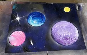 Spacious Galaxy