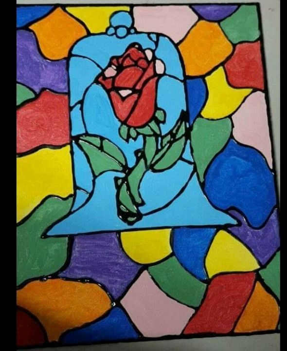 Beauty & the Beast Rose - Godbey's Creations