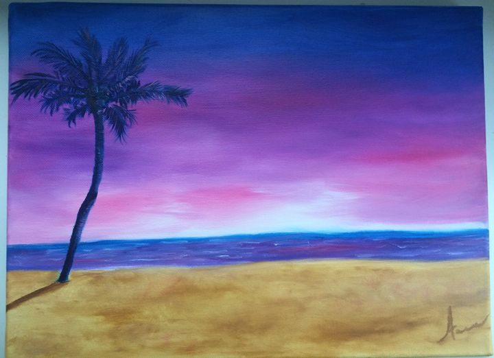 The beach - Anna Kleimenova