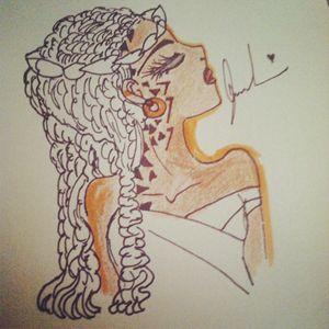 Nubian queen's light