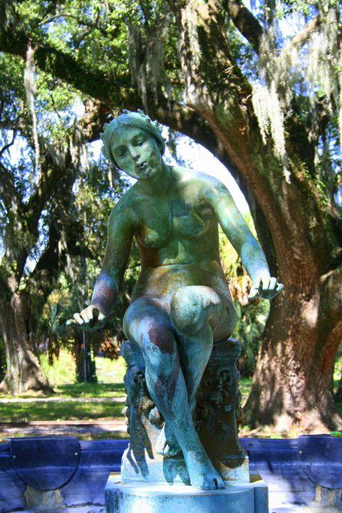 Lady in the Park - Olden Oaks