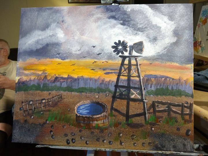 the windmill - artist23